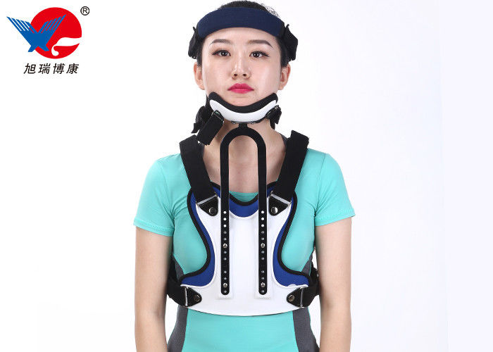 Good Breathability Medical Orthosis , Custom Design Lumbar Sacral Orthosis Back Brace