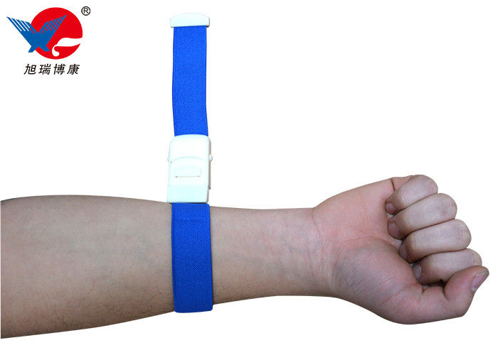 Custom Colourful Emergency Medical Tourniquet With Buckle Convenient Roll Clip