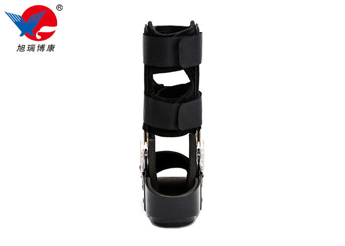 Interchangeable Medical Walking Boot , Black Summer Removable Walking Boot
